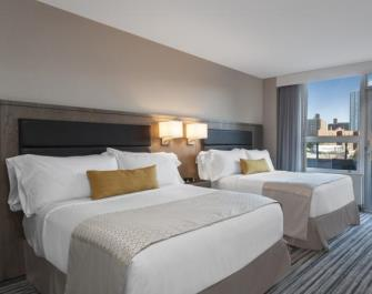 Double room with view at Wyndham Garden LaGuardia South